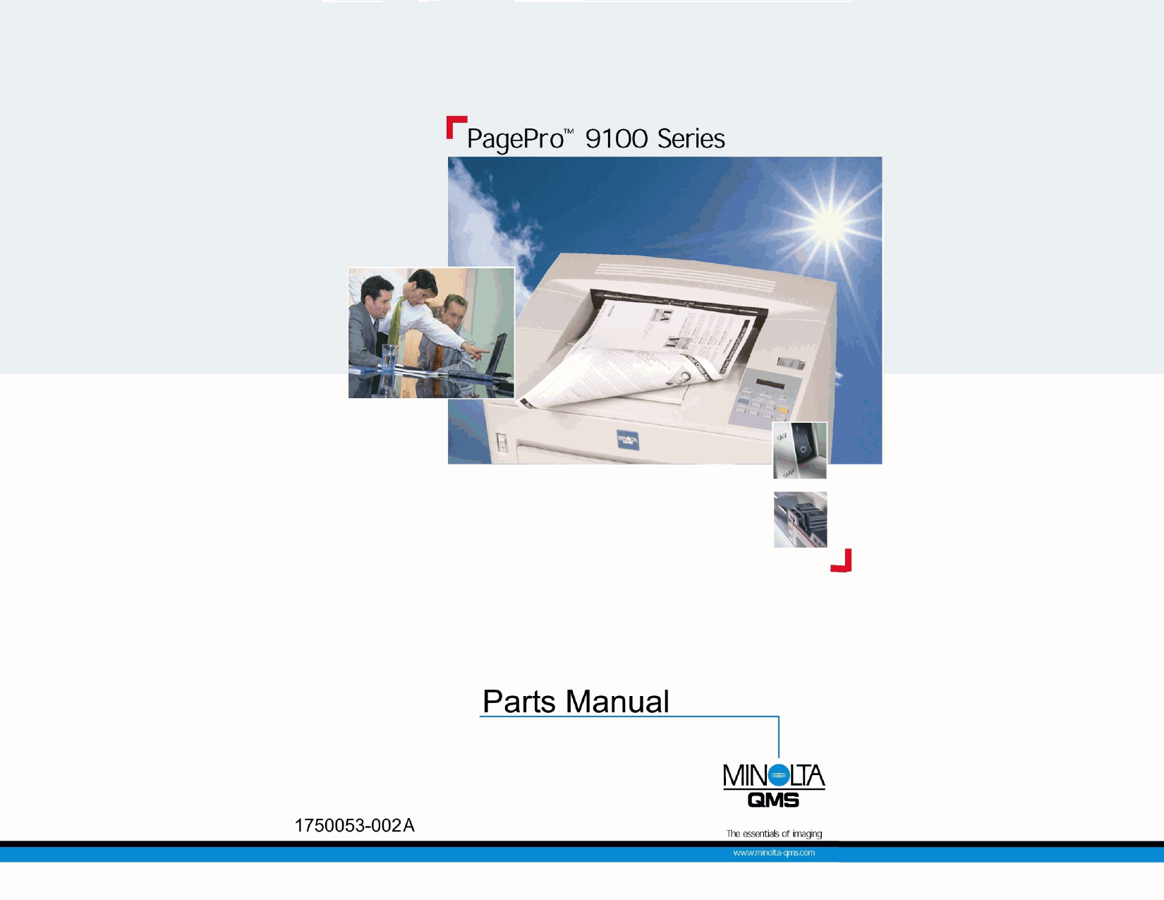 Konica-Minolta pagepro 9100 Parts Manual-1